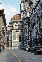 Florence: Duomo, North Side, Apse. Photo '83.