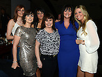 Jennie Englishby, Kerrie Smith, Jenny Tuffy, Siobhan Moore, Sharon McDermott and Carmel Smith pictured at Integral christmas party in McHugh's. Photo:Colin Bell/pressphotos.ie