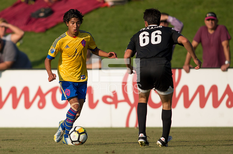 Carson, CA -  July 14, 2017: In the 2016-17 U.S. Soccer Development Academy U-17/18 Semi Finals Colorado Rapids vs Texans SC Houston at StubHub center.