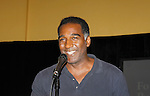 "Norm Lewis ""Keith McLean"" on All My Children singing in Black Stars in the Great White Way at The National Black Theatre Festival with a week of plays, workshops and much more with an opening night gala of dinner, awards presentation followed by Black Stars of the Great White Way followed by a celebrity reception. It is an International Celebration and Reunion of Spirit. (Photo by Sue Coflin/Max Photos)"