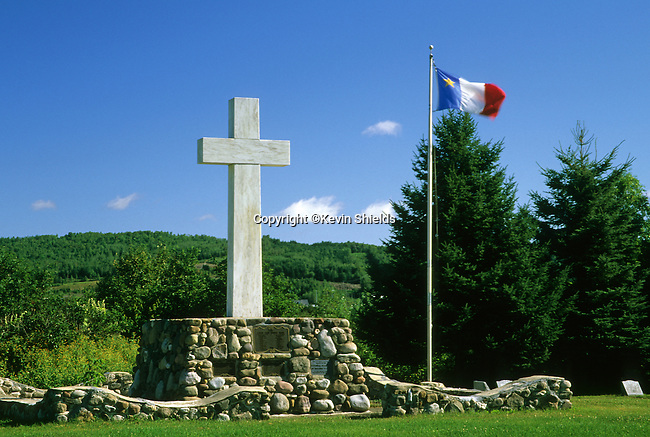 Acadian Cross Historic Site, Madawaska, Maine, USA