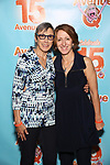 Robyn Goodman and Anna Louizos attend the 'Avenue Q' - 15th Anniversary Performance Celebration at Novotel on July 31, 2018 in New York City.