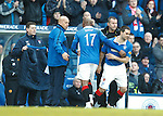 David Healy makes his Rangers debut