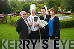 A call of support has gone out for the annual Ballygarry BBQ in aid of the Kerry Cancer Support Group. .L-R Manager of Kerry Cancer Support Group Sean Prendergast, head chef at the Ballygarry House Hotel, Sales Executive Miriam Ferriter  and Mary Lynch of the Kerry Cancer Support Group.