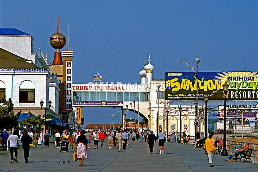 Vista da cidade de Atlantic City, EUA. 2001. Foto de Ricardo Azoury.