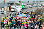 On Friday Kerry Footballer and Player of the Year James O'Donoghue was invited to Blennerville NS to raise The Green Flag and the Active School Blue Flag.were the teachers and pupils gave him a warm welcome.