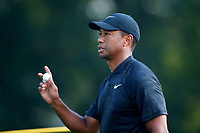 Tiger Woods (USA) plays the 8th hole during the second round of the 100th PGA Championship at Bellerive Country Club, St. Louis, Missouri, USA. 8/11/2018.<br /> Picture: Golffile.ie | Brian Spurlock<br /> <br /> All photo usage must carry mandatory copyright credit (© Golffile | Brian Spurlock)