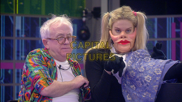 Leslie Jordan, Stephanie Pratt<br /> in Celebrity Big Brother - Summer 2014 (Day 12)<br /> *Editorial Use Only*<br /> CAP/NFS<br /> Image supplied by Capital Pictures