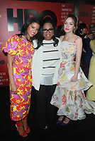 NEW YORK, NY - APRIL 18: Renee Elise Goldsberry, Oprah Winfrey and Rose Byrne at &quot;The Immortal Life Of Henrietta Lacks&quot; New York Premiere at SVA Theater on April 18, 2017 in New York City. <br /> CAP/MPI99<br /> &copy;MPI99/Capital Pictures