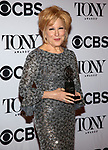 Bette Midler poses at the 71st Annual Tony Awards, in the press room at Radio City Music Hall on June 11, 2017 in New York City.