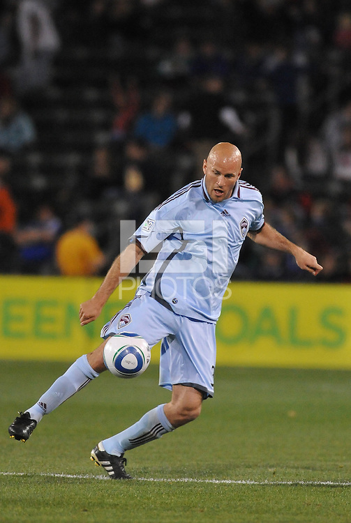 Conor Casey...Kansas City Wizards defeated Colorado Rapids 1-0 at Community America Ballpark, Kansas City, Kansas.