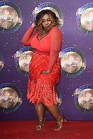 Chizzy Akudolu<br /> at the launch of the new series of &quot;Strictly Come Dancing, New Broadcasting House, London. <br /> <br /> <br /> &copy;Ash Knotek  D3298  28/08/2017