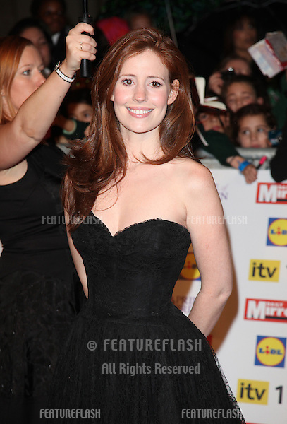 Amy Nuttall arriving for the 2012 Pride of Britain Awards, at the Grosvenor House Hotel, London. 29/10/2012 Picture by: Alexandra Glen / Featureflash