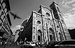 FLORENCE, ITALY - MAY: A general view of the Duomo in May of 2001 in Florence, Italy (Photo By Donald Miralle)