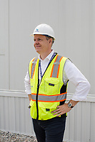 Morten Nielsen, Novo Nordisk senior vice president, Diabetes API Project, during a tour of the Novo Nordisk production plant in Clayton, NC Friday, April 27, 2018. (Justin Cook for STAT News)