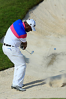 Naser Yaqoob (am) during the first round of the NBO Open played at Al Mouj Golf, Muscat, Sultanate of Oman. <br /> 15/02/2018.<br /> Picture: Golffile | Phil Inglis<br /> <br /> <br /> All photo usage must carry mandatory copyright credit (&copy; Golffile | Phil Inglis)