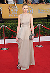 Laura Carmichael attends The 20th SAG Awards held at The Shrine Auditorium in Los Angeles, California on January 18,2014                                                                               © 2014 Hollywood Press Agency