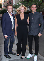 NEW YORK, NY July 11, 2018Dmitry Chepovetsky, Veronica Ferres and Matthew Ross attend  Saban Films presents Siberia screening at the Metrograph in New York. July 11, 2018 Credit:RW/MediaPunch