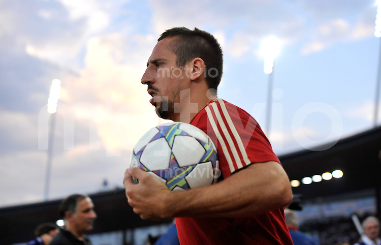 FUSSBALL   CHAMPIONS LEAGUE   SAISON 2011/2012  Qualifikation  23.08.2011 FC Zuerich - FC Bayern Muenchen Franck Ribery (FC Bayern Muenchen)