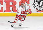 MADISON, WI - OCTOBER 21: The Wisconsin Badgers women's hockey team against the Minnesota Golden Gophers at the Kohl Center on October 21, 2006 in Madison, Wisconsin. The Badgers beat the Golden Gophers 3-1. Photo by David Stluka