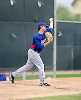Beau Jones / Texas Rangers 2008 Instructional League..Photo by:  Bill Mitchell/Four Seam Images