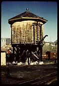 View of water tank - Durango?<br /> D&amp;RGW  Durango ?, CO