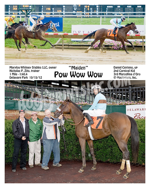 Pow Wow Wow winning at Delaware Park on 10/15/12
