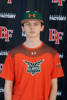 Jakob Sellars-Taylor during the Under Armour All-America Tournament powered by Baseball Factory on January 17, 2020 at Sloan Park in Mesa, Arizona.  (Mike Janes/Four Seam Images)