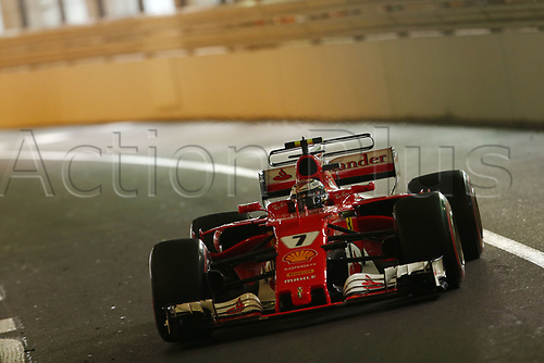 May 28th 2017, Monaco; F1 Grand Prix of Monaco Race Day; FIA Formula One World Championship 2017, Grand Prix of Monaco, #7 Kimi Raikkonen (FIN, Scuderia Ferrari)