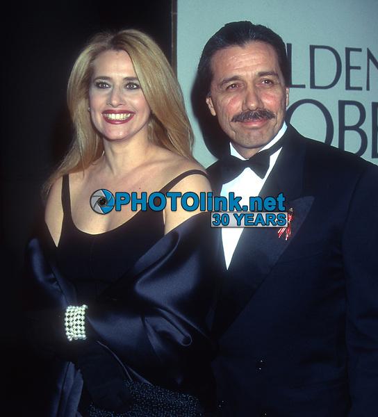 Lorraine Bracco, Edward James Olmos, 1995, Photo By Michael Ferguson/PHOTOlink