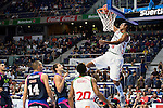 Laboral Kutxa's Adam Hanga during Liga Endesa ACB at Barclays Center in Madrid, October 11, 2015.<br /> (ALTERPHOTOS/BorjaB.Hojas)