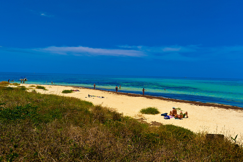Beach, Bahia Honda State Park, Big Pine Key, Florida Keys, Florida USA