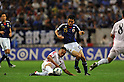 Jong Tae Se (PRK), Yasuyuki Konno (JPN), SEPTEMBER 2, 2011 - Football / Soccer : FIFA World Cup Brazil 2014 Asian Qualifier Third Round Group C match between Japan 1-0 North Korea at Saitama Stadium 2002, Saitama, Japan.(Photo by Atsushi Tomura/AFLO SPORT) [1035]