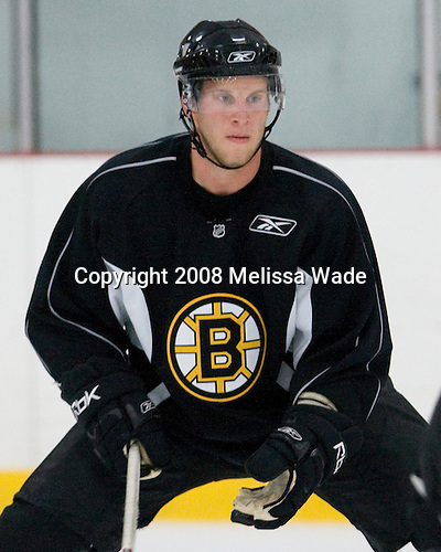Andrew Bodnarchuk (56) - Prospects and free agent invitees took part in the final day of the 2008 Boston Bruins Development Camp on Saturday, July 12, 2008 at Ristuccia Arena in Wilmington, Massachusetts.
