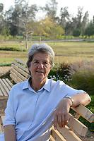 EGYPT, Bilbeis, Sekem organic farm, desert farming,  / AEGYPTEN, Bilbeis, Sekem Biofarm, Landwirtschaft in der Wueste, Angela Hofmann, Koordinatorin Landwirtschaft