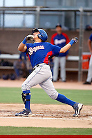 Christian Villanueva - AZL Rangers - 2010 Arizona League.Photo by:  Bill Mitchell/Four Seam Images..