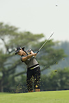 SINGAPORE - MARCH 07:  Se Ri Pak of South Korea hits her third shot on the par five 15th hole during the third round of HSBC Women's Champions at the Tanah Merah Country Club on March 7, 2009 in Singapore. Photo by Victor Fraile / The Power of Sport Images