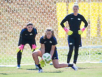 Brasilia, Brazil - August 11, 2016: The USWNT trains in preparation for the quarterfinals of the 2016 Olympics at Mane Garrincha Stadium.