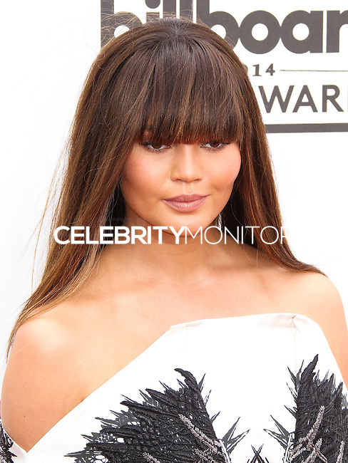 LAS VEGAS, NV, USA - MAY 18: Chrissy Teigen at the Billboard Music Awards 2014 held at the MGM Grand Garden Arena on May 18, 2014 in Las Vegas, Nevada, United States. (Photo by Xavier Collin/Celebrity Monitor)