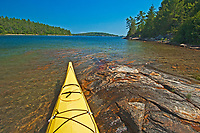 kayak and Georgian Bay<br />