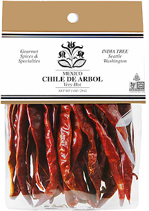 20402 Chile de Arbol, Caravan 1 oz, India Tree Storefront