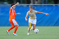 21 August 2011:  FIU's Chelsea Leiva (2) battles Florida's Taylor Travis (41) for the ball in the first half as the University of Florida Gators defeated the FIU Golden Panthers, 2-0, at University Park Stadium in Miami, Florida.