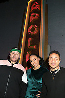 NEW YORK, NY - JANUARY 26: Fat Joe, Elle Varner and Rotimi at Apollo Theater Inaugural Pre-Grammy Uptown Luncheon on January 26, 2018 in New York City. Credit: Walik Goshorn/MediaPunch