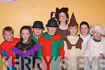 SHOW: Having a laugh at the variety show in Milltown Community Hall on Thursday evening were front l-r: Lucy Barrett, Orla Courtney, Aisling O'Sullivan and Alan Lynch. Back l-r: David Coffey, Brendan O'Mahony, Sinead O'Sullivan and Aine Barrett.   Copyright Kerry's Eye 2008