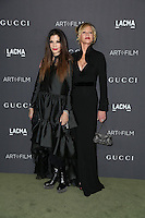 LOS ANGELES, CA - OCTOBER 29: Melanie Griffith,  Loree Rodkin attends the 2016 LACMA Art + Film Gala honoring Robert Irwin and Kathryn Bigelow presented by Gucci at LACMA on October 29, 2016 in Los Angeles, California. (Credit: Parisa Afsahi/MediaPunch).