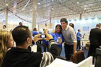 SAO PAULO, SP, 18 DE MAIO DE 2012 - 8º FEIRAO DA CAIXA FEDERAL-  8º feirao da casa propia da Caixa Economica Federal, no Centro de exposicoes Imigrantes, Zona Leste de Sao Paulo. FOTO: GEORGINA GARCIA/ BRAZIL PHOTO PRESS.