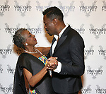Marjorie Johnson and Colman Domingo attends the Vineyard Theatre Gala honoring Colman Domingo at the Edison Ballroom on May 06, 2019 in New York City.