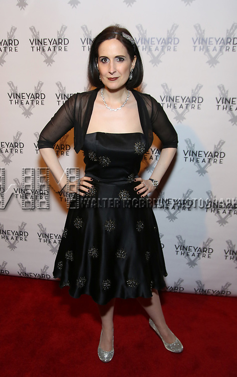 Stephanie D'Abruzzo attends the Vineyard Theatre 2017 Gala at the Edison Ballroom on March 14, 2017 in New York City.