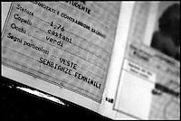 la carta d'identitŕ di un trans.  trans ID card.