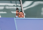 Former player John Terry watches the game during the premier league match at Stamford Bridge Stadium, London. Picture date 17th September 2017. Picture credit should read: David Klein/Sportimage